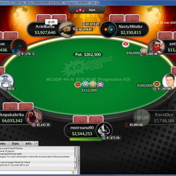 2018 PokerStars WCOOP