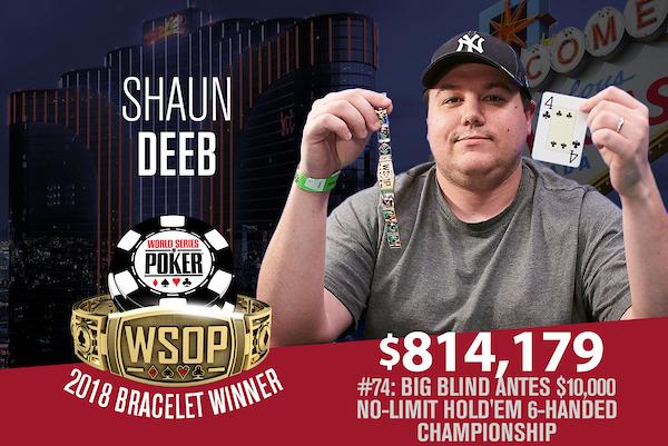 Shaun Deeb WSOP