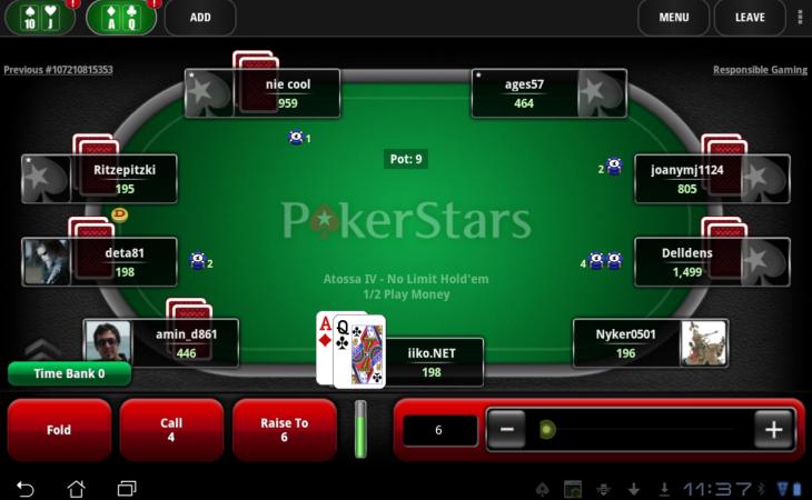 PokerStars Pennsylvania online poker