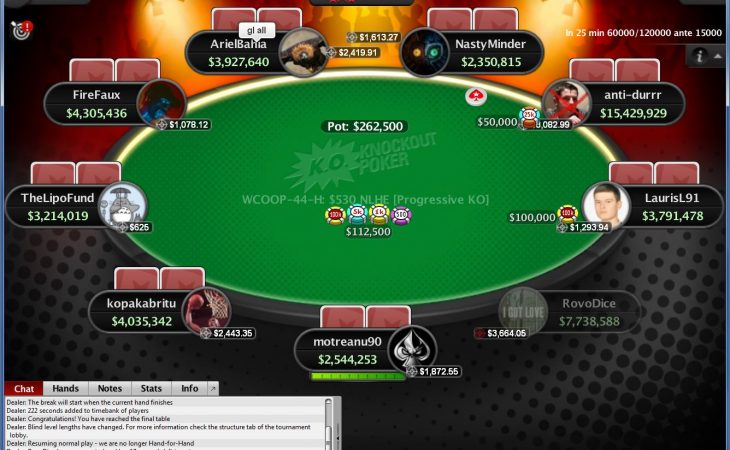 2018 PokerStars WCOOP